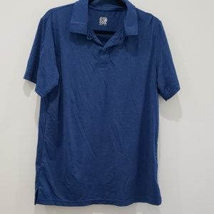 Men's large blue cool fit polo